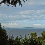 Rangitoto Island as seen from Tiritiri