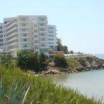 hôtel vue plage