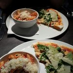 Pizza & Pasta.......of course