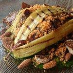 Марокканский салат с инжиром и миндалем
