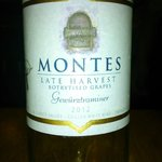 Our choice of dessert wine