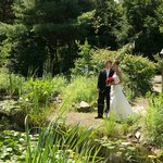 Endless photo opportunities for wedding couples