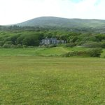 Derrynane House from the beach
