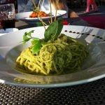 Spagetti a la Pesto