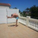 Yoga on the Patio
