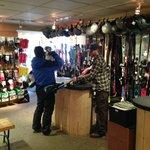 Complete Ski and snowboard equipment rentals