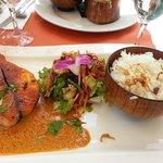 plat : pavé de saumon frais