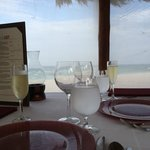 Beachfront Dinner