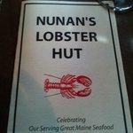 Nunan's menu