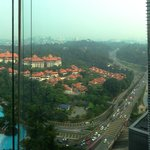 View from 18th floor room