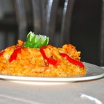 Arroz (Rice) with Shrimps