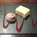 white choc cheesecake