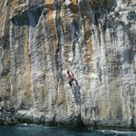 Deep Water Soloing, Ciovo location
