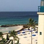 Beach at Hilton Barbados