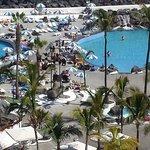 Vista dall'Hotel Vallemar