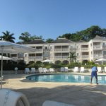 Beachfront rooms and Pool
