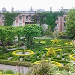 view of the house and gardens