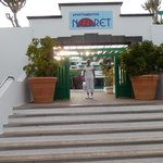 Main Entrance to Nazaret Apartments