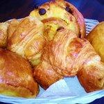 Home-made croissants, pains au chocolat & pains au raisin