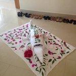 Towel art master!!! Mohammed - Block 11