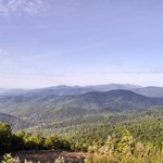 View of the valley from Skyline drive