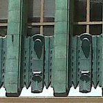 Detail of Los Angeles Jewelry Center (Sun Realty Building) designed by Claud Beelman