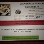 LOS COMALES IS THE BEST MEXICAN RESTAURAUNT IN NC