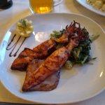 Calamarie vom Grill