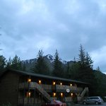 The lodge at midnight June 22