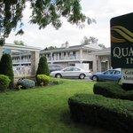 Quality Inn Motor Lodge.