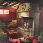 Lounge - warm and intimate, with an extensive wine list.