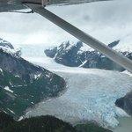 one lone glacier