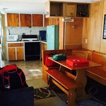 The Caboose- dining/kitchen