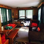 The Caboose- living room/dining area
