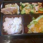 Hibachi Bento Broccoli with Chicken
