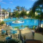 Gorgeous main pool
