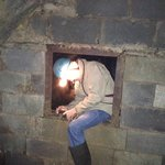 Just about the only artificial hole in the mine...