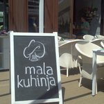 Mala kuhinja restaurant, outside