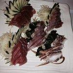 Sashimis decorados