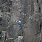 Climbing at Lawrencefield