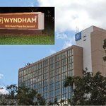 Exterior of Wyndham Lake Buena Vista Resort (taken as we walked to Downtown Disney)