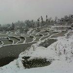 Aicun village 雪中爱春