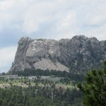 Mount Rushmore from Iron Mountain Road - Custer State Park