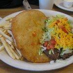 Navajo Fry Burger