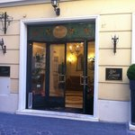 Porta de entrada Hotel Condotti