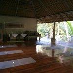 Yoga area.