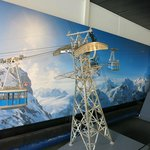 A ski lift miniature.