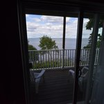 Inside our room looking out