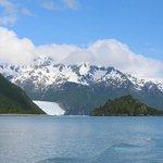 Slate Island and Aialik Glacier