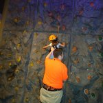 A little help on the rock wall